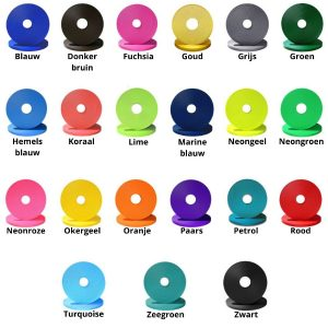 Biothane kleuren